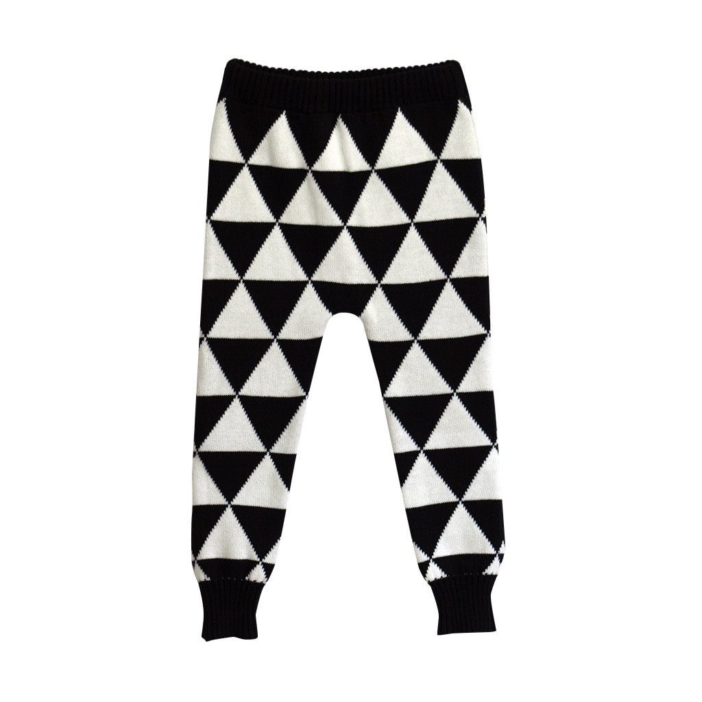 Graphic Knit Pant - Poetic Kids - 4