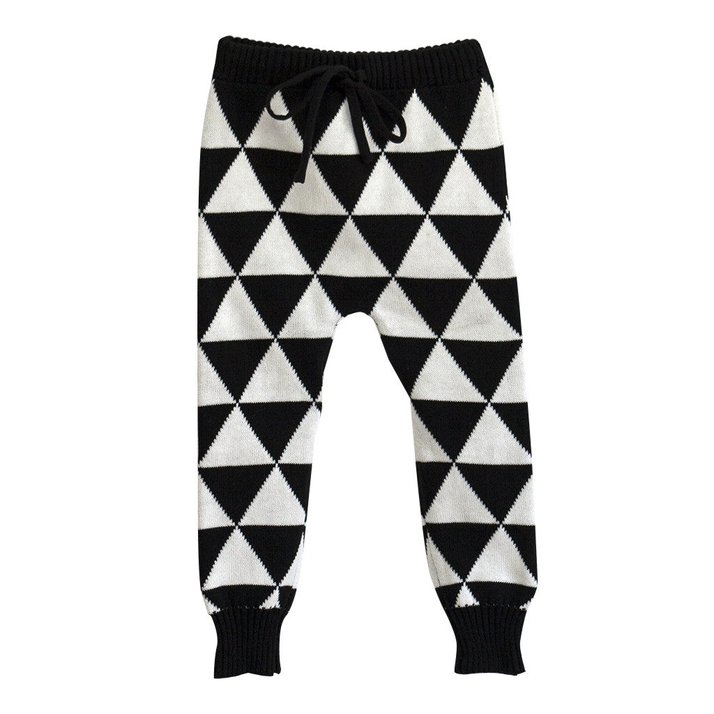 Graphic Knit Pant - Poetic Kids - 1