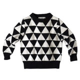 Graphic Knit Sweater - Poetic Kids - 1