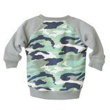 Camo Sweatshirt in Grey - Poetic Kids - 3