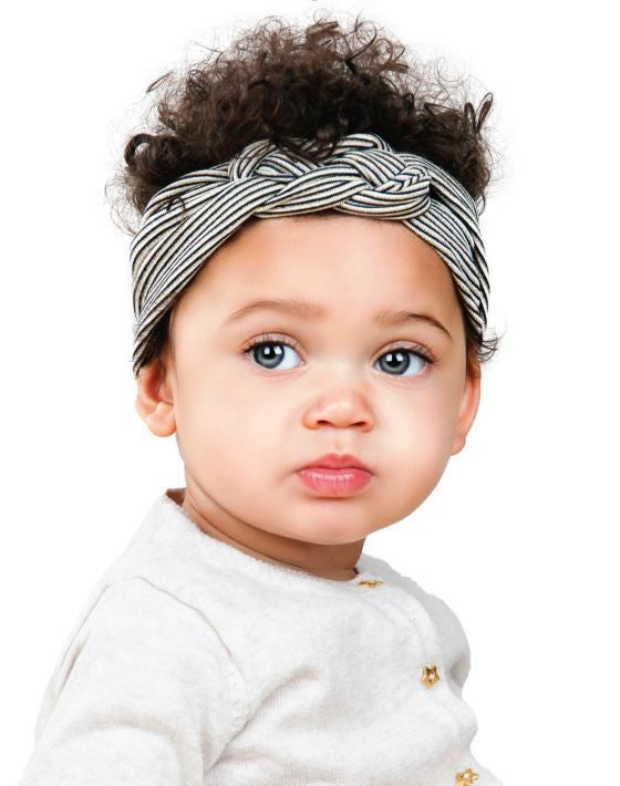 Dotted Sailor Knot Turban - Poetic Kids - 2