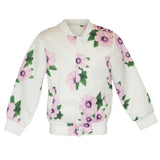 Floral Jacket in White - Poetic Kids - 1