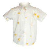 Star Short-Sleeve Button Down - Poetic Kids - 1