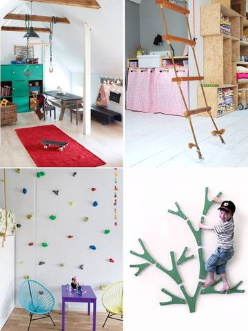 12 ideas for indoor gyms play areas ropes swings and ladders