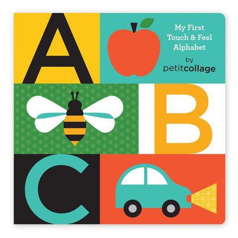 ABC: My First Touch & See Alphabet Board Book