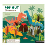 Dinosaur Pop-out and Build Play Set