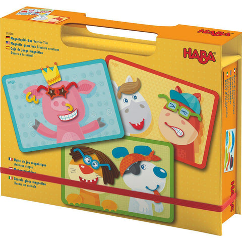 HABA Magnetic Game Box - Creature Creations