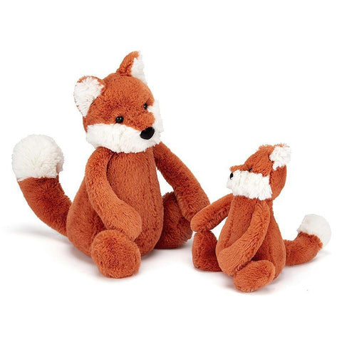 JellyCat Bashful Fox Cub Plush Animal