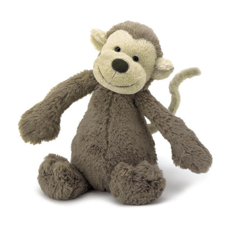 JellyCat Bashful Monkey Plush Animal