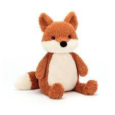 JellyCat Peanut Fox Plush Animal