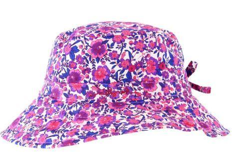 Millymook Girl's Bucket Hat - Ruby