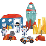 Outer Space Pop-out and Build Play Set