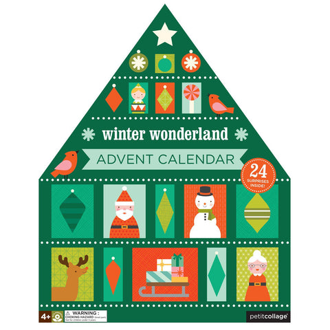 Petit Collage Winter Wonderland Advent Calendar