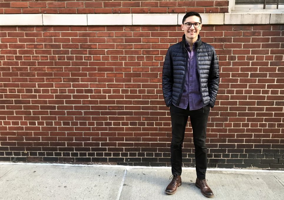 "Smart casual looks right at home in NYC:  Part of our ""Young Professionals in the Workplace"" Series"