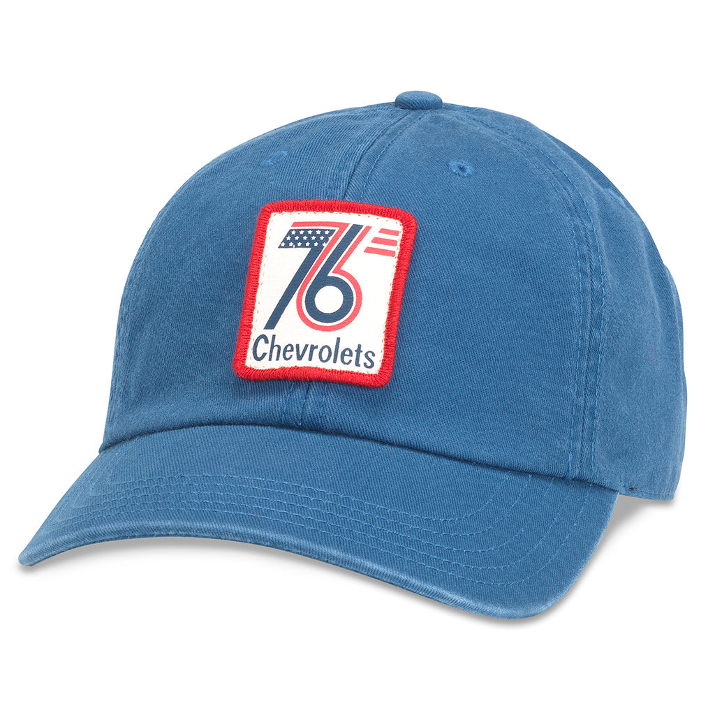 American Needle Hepcat 76 Chevrolet Casual Baseball Dad Hat (GM-1912A-SEAB)