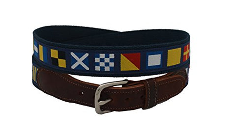Epic Mens Code Flags Ribbon Belt