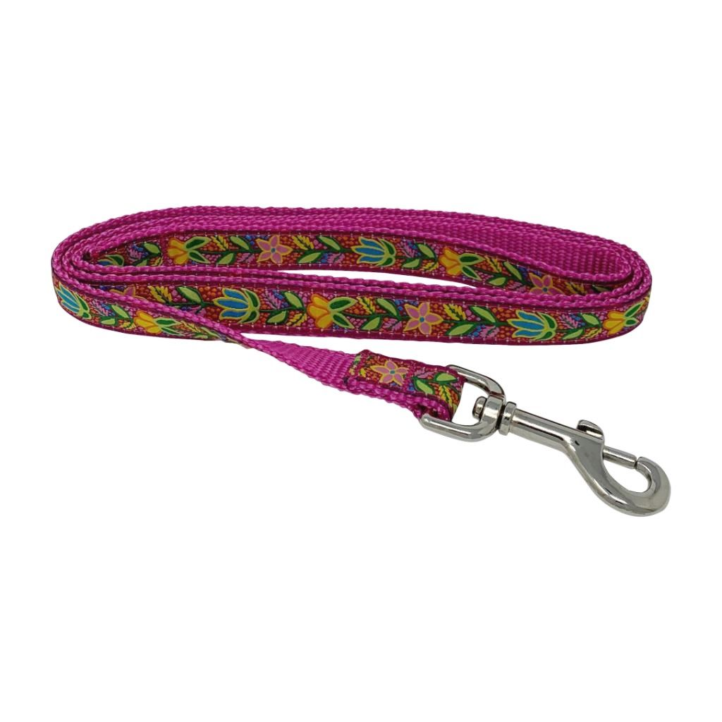 Sadie & Buck Novel Pattern Ribbon Pet Lead Leash