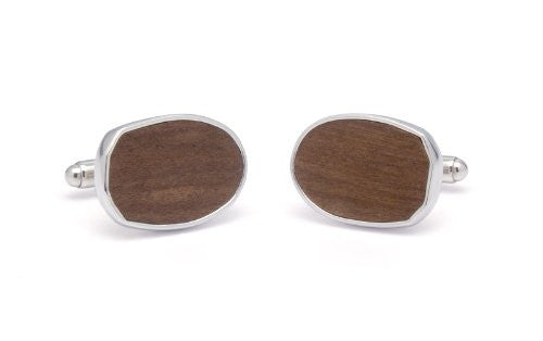 Tokens & Icons Stadium Shaped Seat Cufflinks - Ohio State (2OSU)
