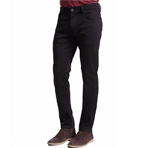 34 Heritage Men's Courage Select Double Black Denim Jeans