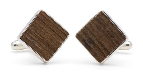 Tokens & Icons Collegiate Stadium Seating Cufflinks (57-Collegiate-P)