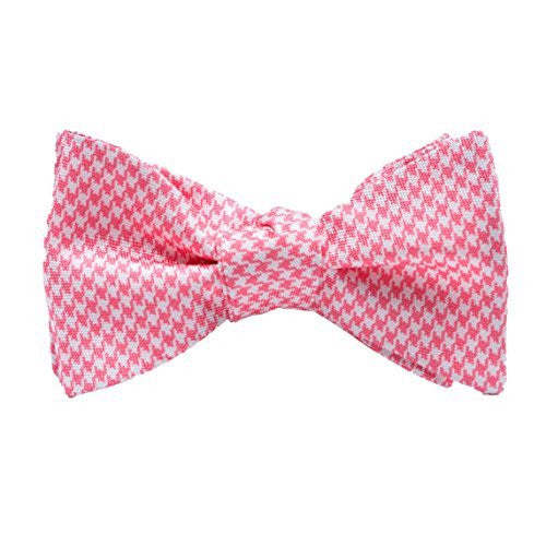 Peter-Blair Men's Coral Stuart 100% Silk Bow Tie Handmade in USA (39STC2BT)