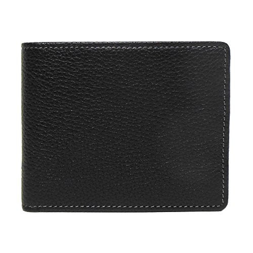 Boconi Men's Tyler Tumbled RFID Rock Solid Travel Wallet