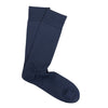 Marcoliani Milano Mens Mid Calf Classic Plain Pima Cotton Lisle Dress Socks