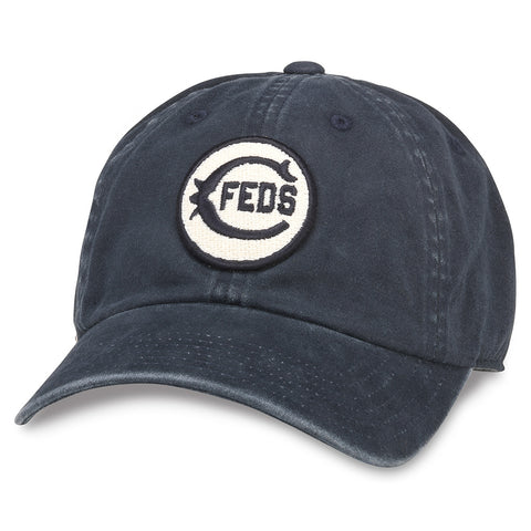 American Needle Archive Federal League Chicago Federals Baseball Dad Hat (44740A-CHF-NAVY)