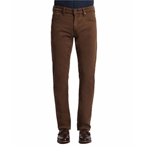 34 Heritage Men's Courage Choco Twill Brown Jeans