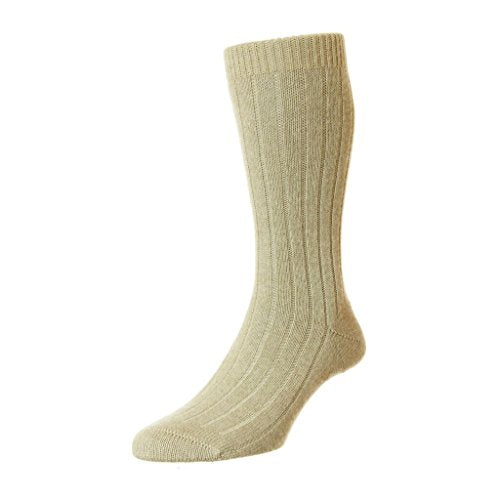 Pantherella Waddington Cashmere Mid-Calf Men's Dress Socks (5750)