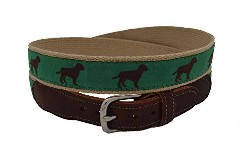 Epic Mens Chocolate Dog Ribbon Belt
