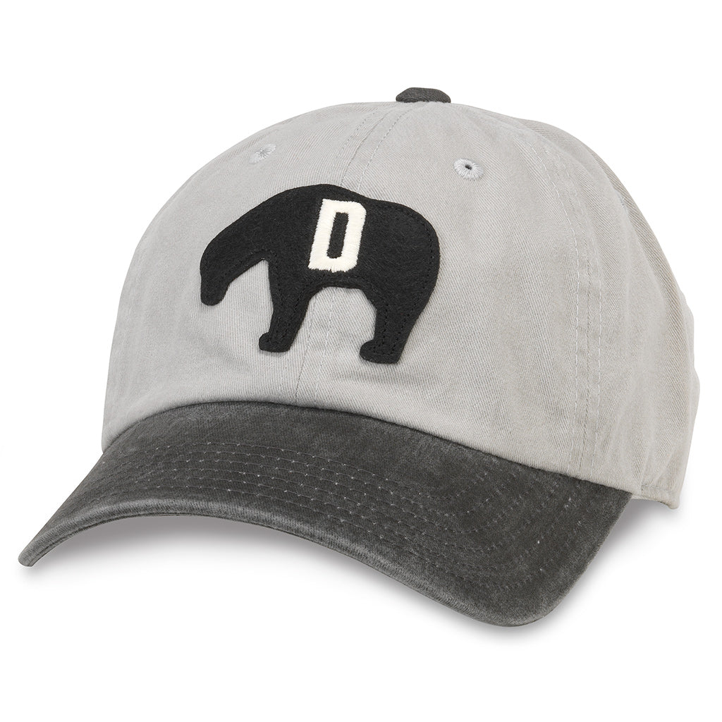 American Needle Archive Negro League Detroit Cubs Baseball Dad Hat (44747A-DEC-GYBL)
