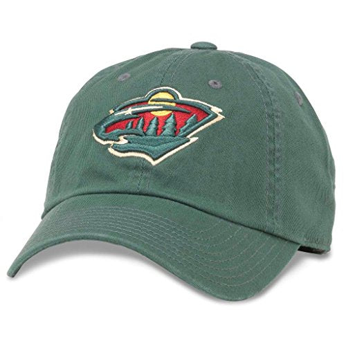 American Needle NHL Minnesota Wild Hockey Dad Hat (40742A-MNW)