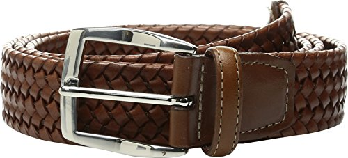 Torino Leather Co. Men's 35mm Italian Woven Stretch Leather