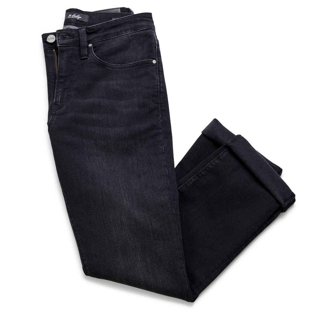 34 Heritage Men's Charisma Black Sienna Denim Jean Pants