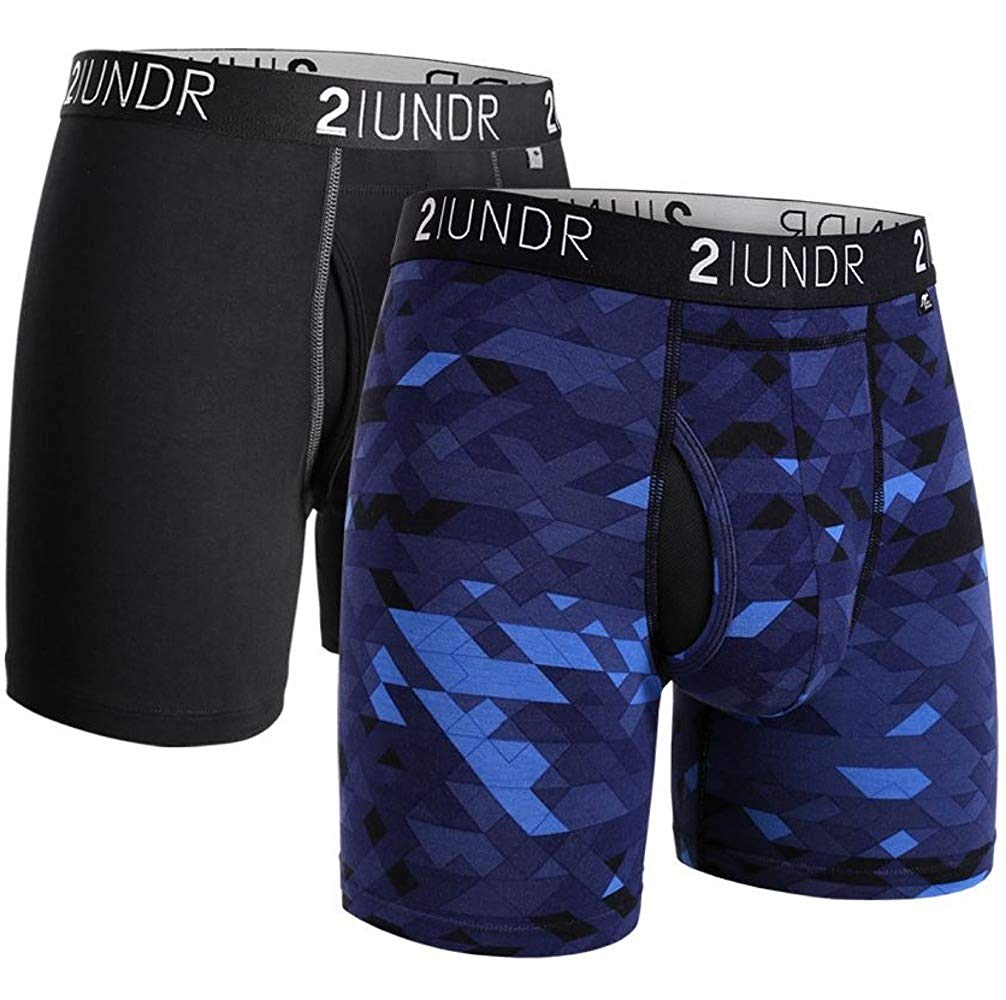 "2UNDR Swing Shift 6"" Boxer Brief 2-Pack"