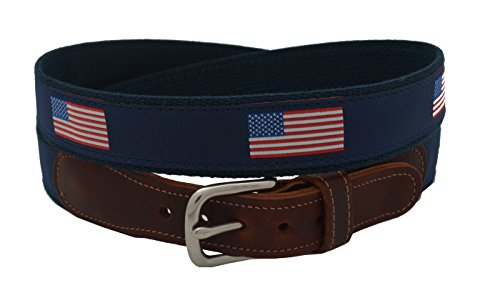 Epic Mens American Flag Ribbon Belt