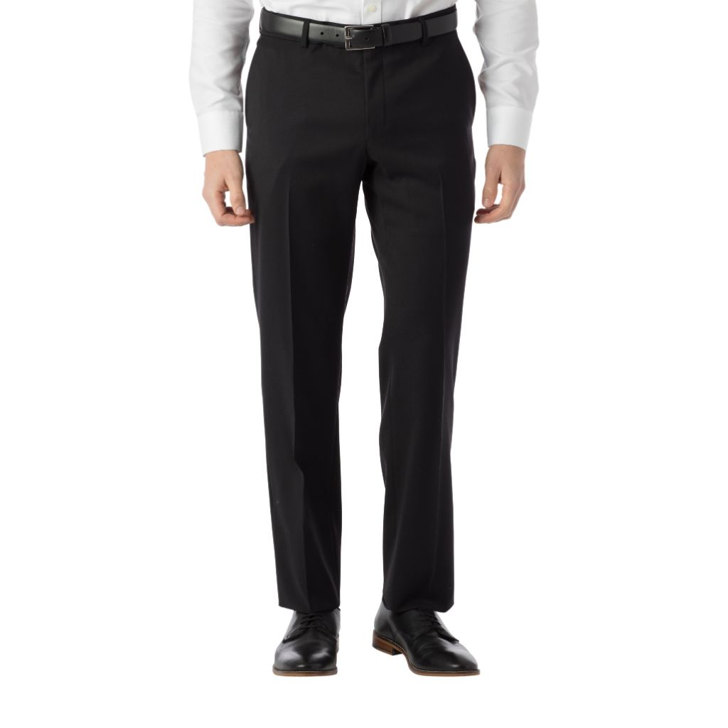"Ballin Men's Modern Fit SOHO Comfort ""EZE"" Super 120's Gabardine Trouser Pants"