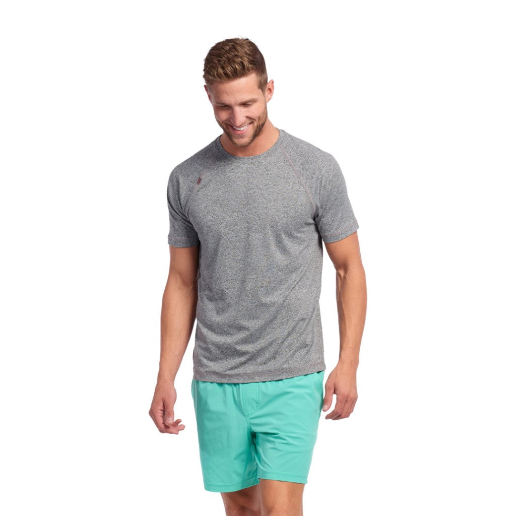 Rhone Mens Reign Short Sleeve Athletic Performance T Shirt