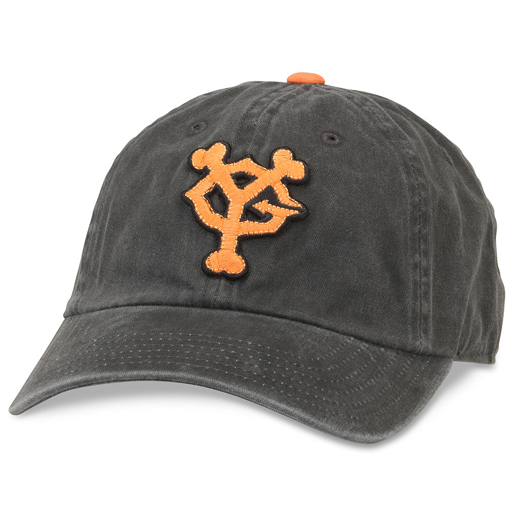 American Needle Archive Nippon League Yomiuri Giants Baseball Dad Hat (44740A-YOG-BLK)