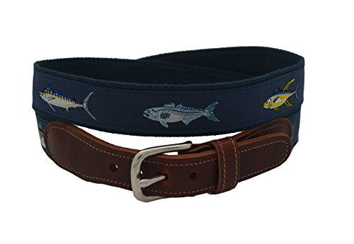 Epic Mens Four Fish Ribbon Belt