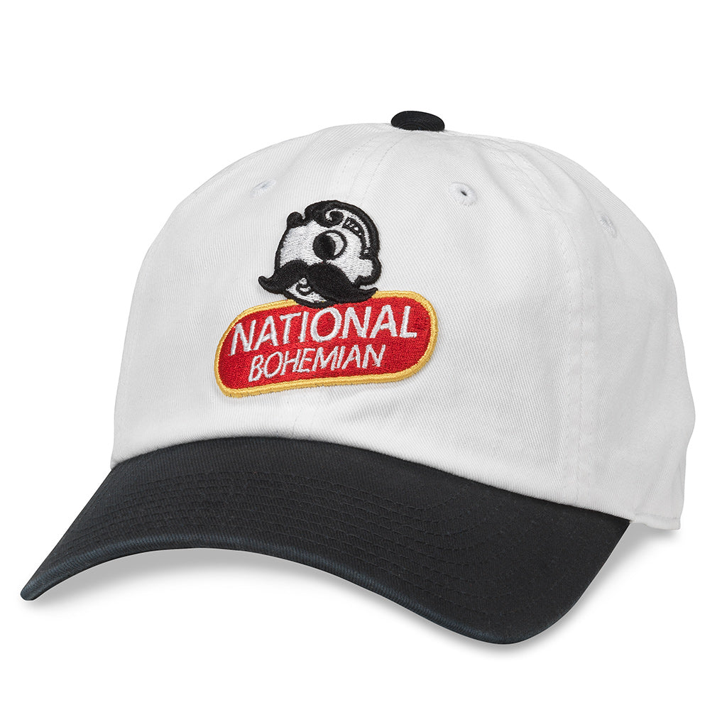 American Needle Ballpark National Bohemian Beer Baseball Dad Hat (PBC-1901F-SNBL)