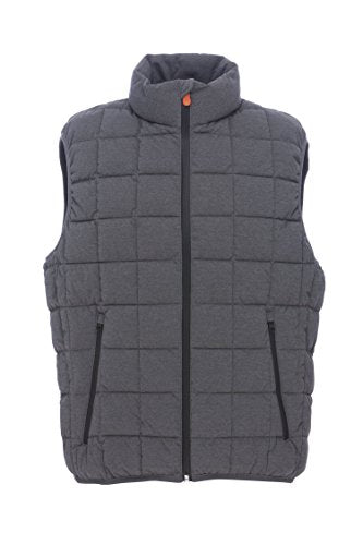 Save the Duck Eco-Friendly Men's Synthetic Down Polyester Vest (S8415M-ANGY5)