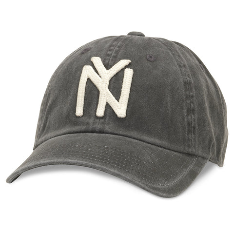American Needle Archive Negro League New York Black Yankees Baseball Hat (44747A-NBY-BLK)
