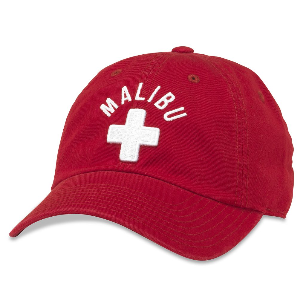 American Needle Malibu Lifeguard Ballpark Adjustable Baseball Dad Hat