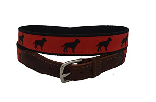 Epic Mens Black Dog Ribbon Belt