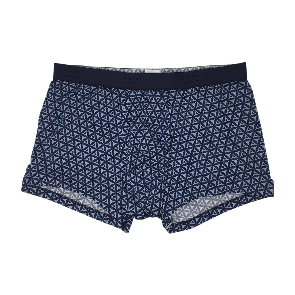 Derek Rose Mens Pima Cotton Pattern Stretch Hipster Trunk Underwear