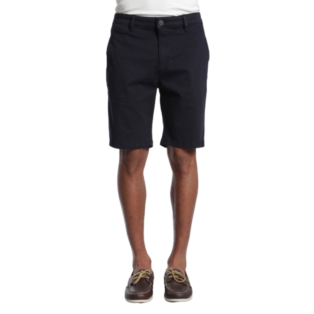 34 Heritage Mens Nevada Shorts Black Soft Touch Casual Shorts