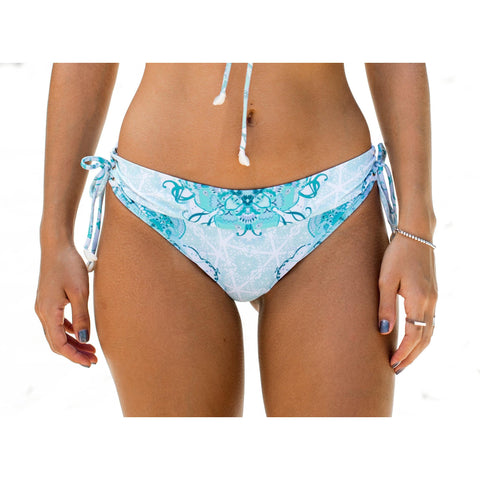 Sea Gypsy Bikini Bottoms ~ Sea Floral Blue Print