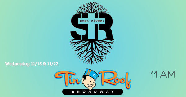 Sean Rivers Acoustic Trio to play back to back Wednesday's at Tin Roof Broadway